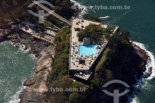 Foto aérea do Costa Brava Clube (1962)  - Rio de Janeiro - Rio de Janeiro (RJ) - Brasil