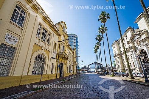 Prédio da Inspetoria da Receita Federal (Alfândega) na Rua Siqueira Campos  - Porto Alegre - Rio Grande do Sul (RS) - Brasil