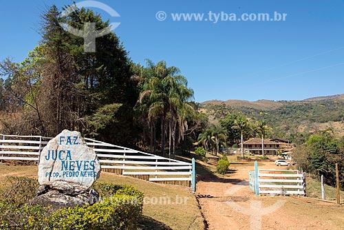 Sede da fazenda Juca Neves e hotel fazenda na zona rural da cidade do distrito de São José do Barreiro  - São Roque de Minas - Minas Gerais (MG) - Brasil