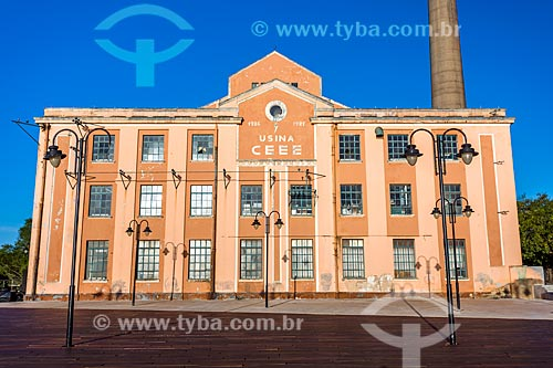 Fachada do Centro Cultura Usina do Gasômetro (1928)  - Porto Alegre - Rio Grande do Sul (RS) - Brasil