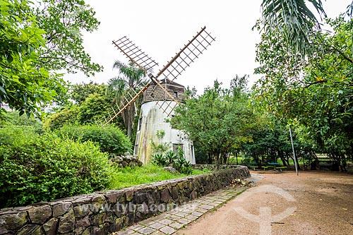 Réplica de moinho açoriano no Parque Moinhos de Vento  - Porto Alegre - Rio Grande do Sul (RS) - Brasil