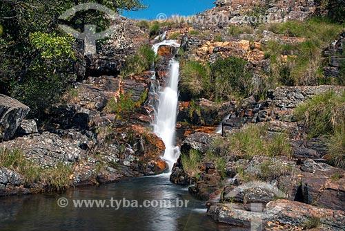Cachoeira das Rolinhas no Parque Nacional da Serra da Canastra  - São Roque de Minas - Minas Gerais (MG) - Brasil