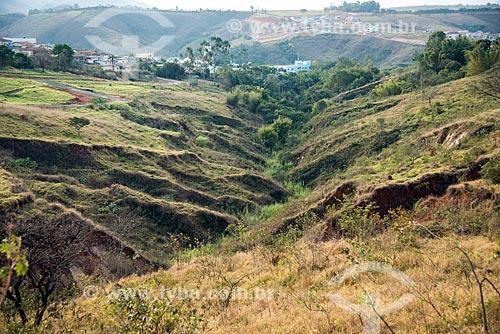 Voçoroca - ou Vossoroca - próximo à cidade de São Roque de Minas  - São Roque de Minas - Minas Gerais (MG) - Brasil
