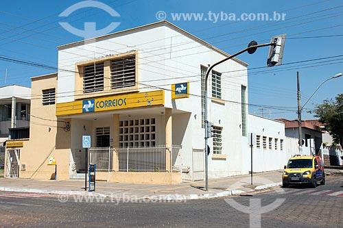 Agência dos Correios no centro da cidade de Piumhi  - Piumhi - Minas Gerais (MG) - Brasil