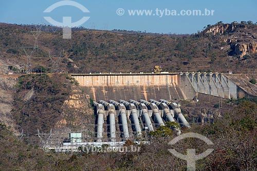 Vista da Usina Hidrelétrica de Furnas  - Capitólio - Minas Gerais (MG) - Brasil