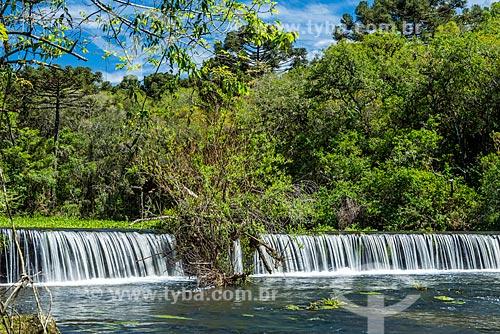 Vista do Arroio do Caracol no Parque Estadual do Caracol  - Canela - Rio Grande do Sul (RS) - Brasil