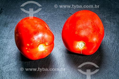 Detalhe de tomate  - Brasil