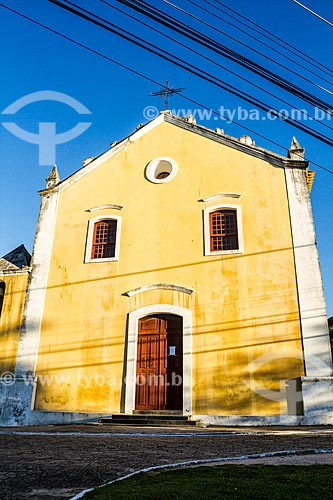Fachada da Igreja de São Francisco de Paula (1833)  - Florianópolis - Santa Catarina (SC) - Brasil