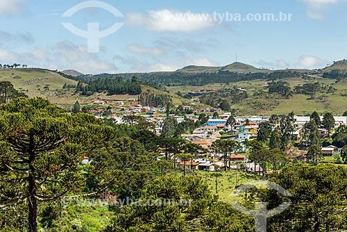 Vista geral da cidade de Bom Jardim da Serra  - Bom Jardim da Serra - Santa Catarina (SC) - Brasil
