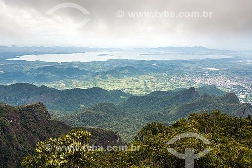 Vista do Morro dos Vândalos durante a Travessia Cobiçado x Ventania no Parque Nacional da Serra dos Órgãos  - Petrópolis - Rio de Janeiro (RJ) - Brasil