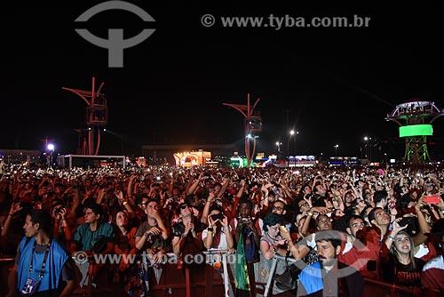 Público no Rock in Rio 2017 no Parque Olímpico Rio 2016  - Rio de Janeiro - Rio de Janeiro (RJ) - Brasil