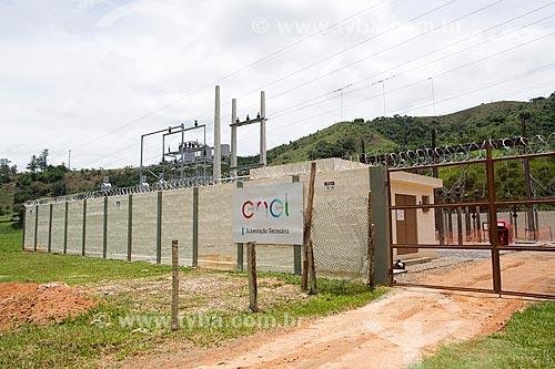 Subestação no distrito de Secretário  - Petrópolis - Rio de Janeiro (RJ) - Brasil