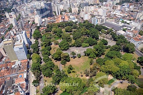 Foto aérea do Campo de Santana (1880)  - Rio de Janeiro - Rio de Janeiro (RJ) - Brasil