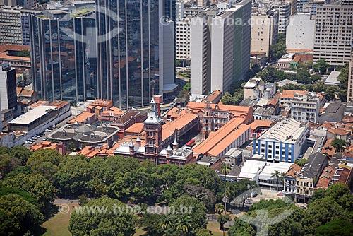 Foto aérea da sede do Comando Central do Corpo de Bombeiros do Rio de Janeiro  - Rio de Janeiro - Rio de Janeiro (RJ) - Brasil