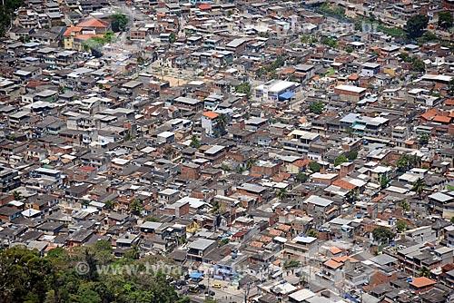 Foto aérea da Cidade de Deus  - Rio de Janeiro - Rio de Janeiro (RJ) - Brasil