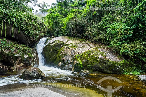 Poço do Sossego próximo ao Centro de Visitantes von Martius do Parque Nacional da Serra dos Órgãos  - Guapimirim - Rio de Janeiro (RJ) - Brasil