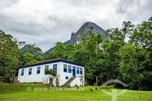 Centro de Visitantes von Martius na sede Guapimirm do Parque Nacional da Serra dos Órgãos  - Guapimirim - Rio de Janeiro (RJ) - Brasil