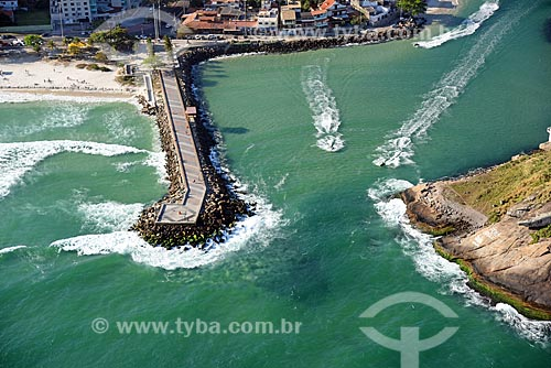 Foto aérea do Canal da Joatinga  - Rio de Janeiro - Rio de Janeiro (RJ) - Brasil