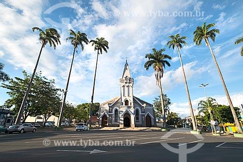 Fachada da Igreja Matriz de São Pedro (1864)  - Piracicaba - São Paulo (SP) - Brasil