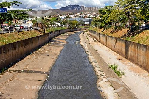 Vista do Ribeirão Arrudas  - Belo Horizonte - Minas Gerais (MG) - Brasil