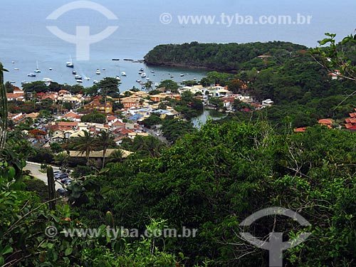 Vista geral do centro da cidade de Armação dos Búzios  - Armação dos Búzios - Rio de Janeiro (RJ) - Brasil