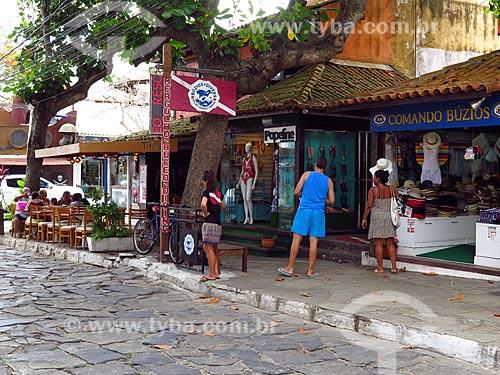 Lojas na Rua das Pedras  - Armação dos Búzios - Rio de Janeiro (RJ) - Brasil