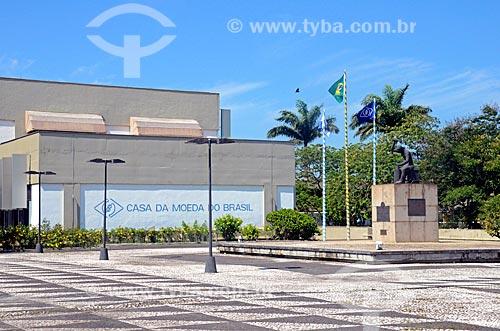 Entrada da Casa da Moeda do Brasil  - Rio de Janeiro - Rio de Janeiro (RJ) - Brasil