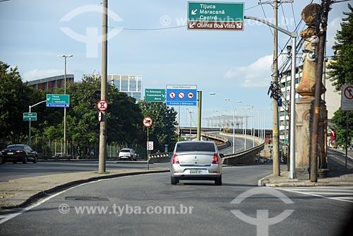 Via de acesso à Linha Vermelha  - Rio de Janeiro - Rio de Janeiro (RJ) - Brasil
