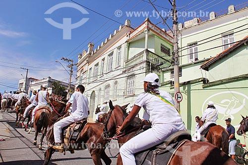 Cavalhada durante a Festa de São Benedito  - Guaratinguetá - São Paulo (SP) - Brasil