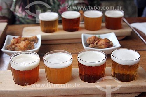 Harmonização de cervejas artesanais com petiscos na Cervejaria Buda Beer  - Petrópolis - Rio de Janeiro (RJ) - Brasil
