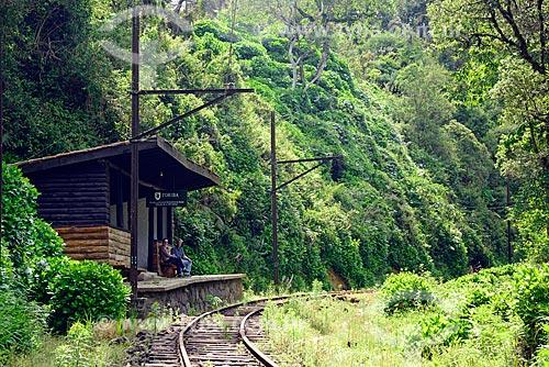 Estação Toriba da Estrada de Ferro Campos do Jordão (1914)  - Campos do Jordão - São Paulo (SP) - Brasil