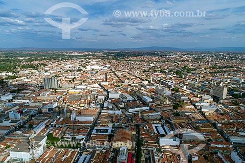Foto feita com drone da cidade de Juazeiro do Norte  - Juazeiro do Norte - Ceará (CE) - Brasil