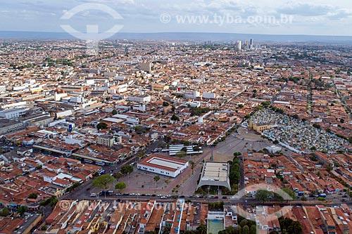 Foto feita com drone da Praça do Socorro  - Juazeiro do Norte - Ceará (CE) - Brasil