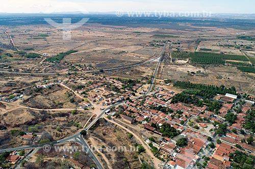Foto feita com drone do distrito de São Gonçalo  - Sousa - Paraíba (PB) - Brasil
