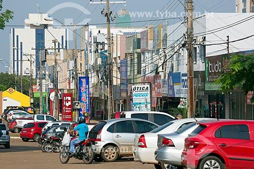 Comércio na Quadra 106 Norte  - Palmas - Tocantins (TO) - Brasil