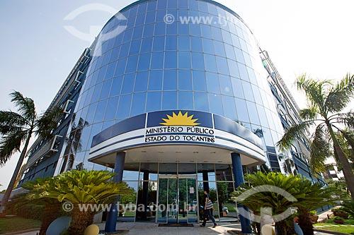 Fachada da sede do Ministério Público do Estado do Tocantins  - Palmas - Tocantins (TO) - Brasil