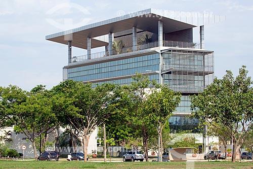 Fachada da sede do Justiça Federal do Estado do Tocantins  - Palmas - Tocantins (TO) - Brasil