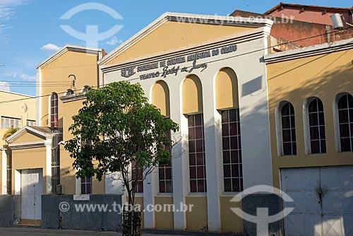 Fachada do Teatro Rachel de Queiroz  - Crato - Ceará (CE) - Brasil