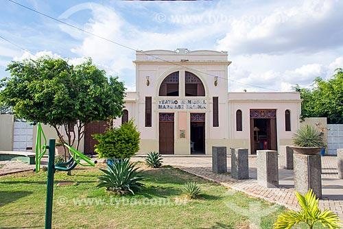 Fachada do Theatro Municipal Marquise Branca  - Juazeiro do Norte - Ceará (CE) - Brasil