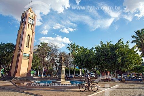 Vista da Praça Padre Cícero  - Juazeiro do Norte - Ceará (CE) - Brasil