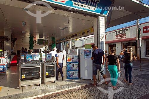 Eletrodomésticos à venda em loja da rede Zenir  - Juazeiro do Norte - Ceará (CE) - Brasil