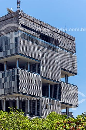 Vista do edifício sede da Petrobras a partir do Largo da Carioca  - Rio de Janeiro - Rio de Janeiro (RJ) - Brasil