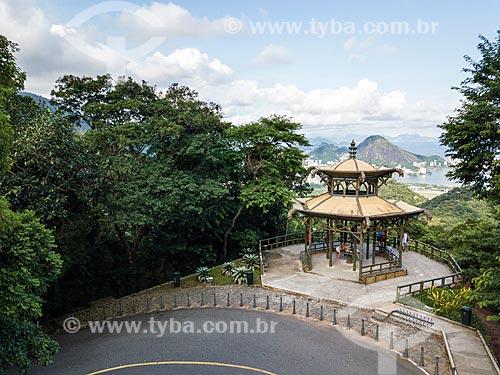 Foto feita com drone da Mirante da Vista Chinesa  - Rio de Janeiro - Rio de Janeiro (RJ) - Brasil