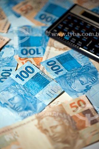 Moeda Brasileira - Real - notas de 50 e 100 reais  - Rio de Janeiro - Rio de Janeiro (RJ) - Brasil
