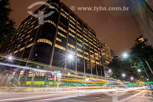 Fachada da sede do Sistema FIRJAN - Centro Empresarial Arthur João Donato na esquina da Avenida Graça Aranha com a Rua Santa Luzia  - Rio de Janeiro - Rio de Janeiro (RJ) - Brasil