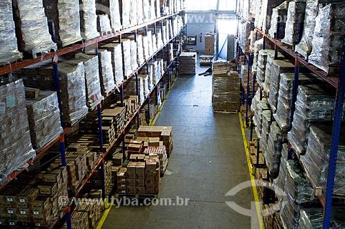 Área de estoque em fábrica de indústria alimentícia  - Rio de Janeiro - Rio de Janeiro (RJ) - Brasil