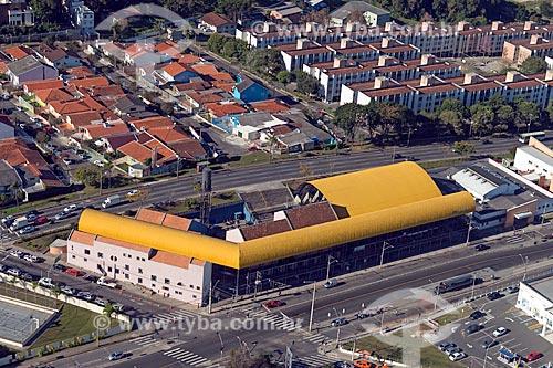 Foto aérea da Rua da Cidadania - Boa Vista  - Curitiba - Paraná (PR) - Brasil