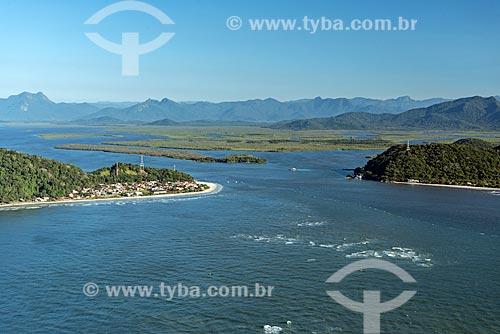 Foto aérea da Baía de Guaratuba  - Guaratuba - Paraná (PR) - Brasil