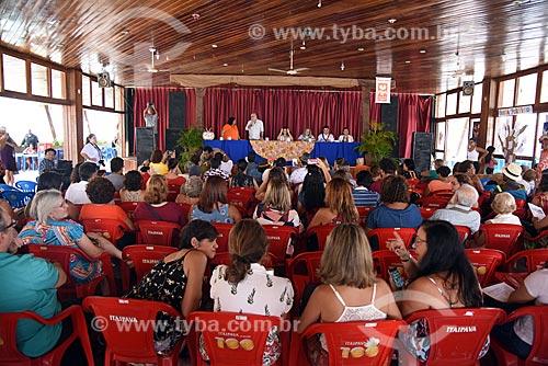 Palestra durante a Festa Literária de Paquetá (FLIPA)  - Rio de Janeiro - Rio de Janeiro (RJ) - Brasil
