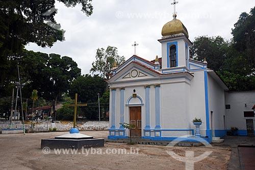 Fachada da Capela de São Roque  - Rio de Janeiro - Rio de Janeiro (RJ) - Brasil